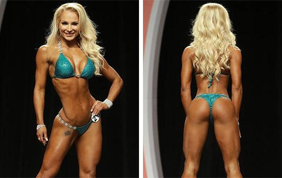 international bikini competitor