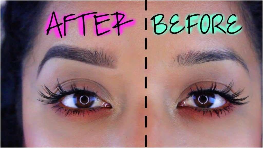 bikini competition eye brows