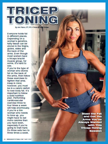 fitness-magazine-model